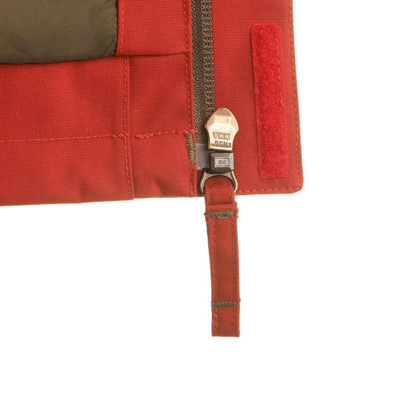 เสื้อแจ็คเก็ตเดินป่ากันฝนสำหรับผู้ชาย Arpenaz 300 (สีแดง)