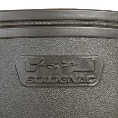 Botas impermeables Solognac Glenarm 500 Hombre Fuelle Lateral Ajustable Verde