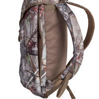 Backpack of 25L in camouflage brown