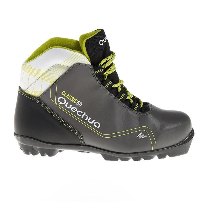 Chaussures de ski de fond classique loisir junior Classic 50 NNN noire - 318620