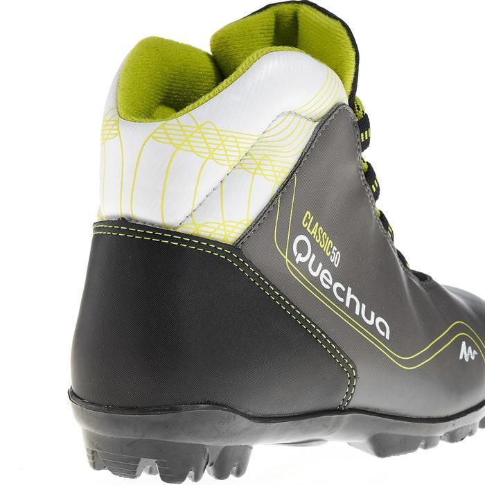 Chaussures de ski de fond classique loisir junior Classic 50 NNN noire - 318630