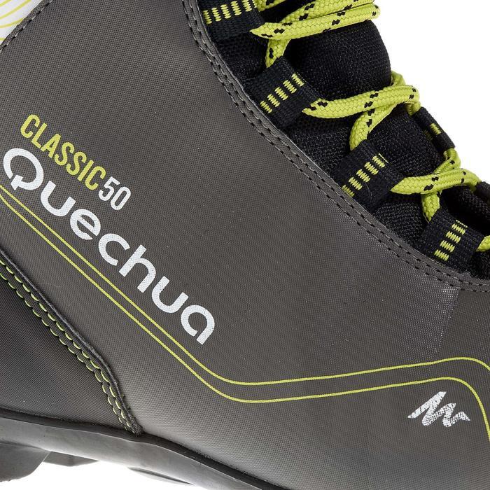 Chaussures de ski de fond classique loisir junior Classic 50 NNN noire - 318635