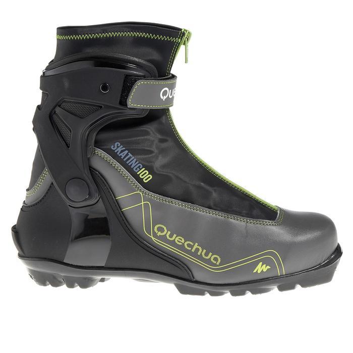 Chaussures ski de fond skate sport homme Skate 100 NNN - 318636