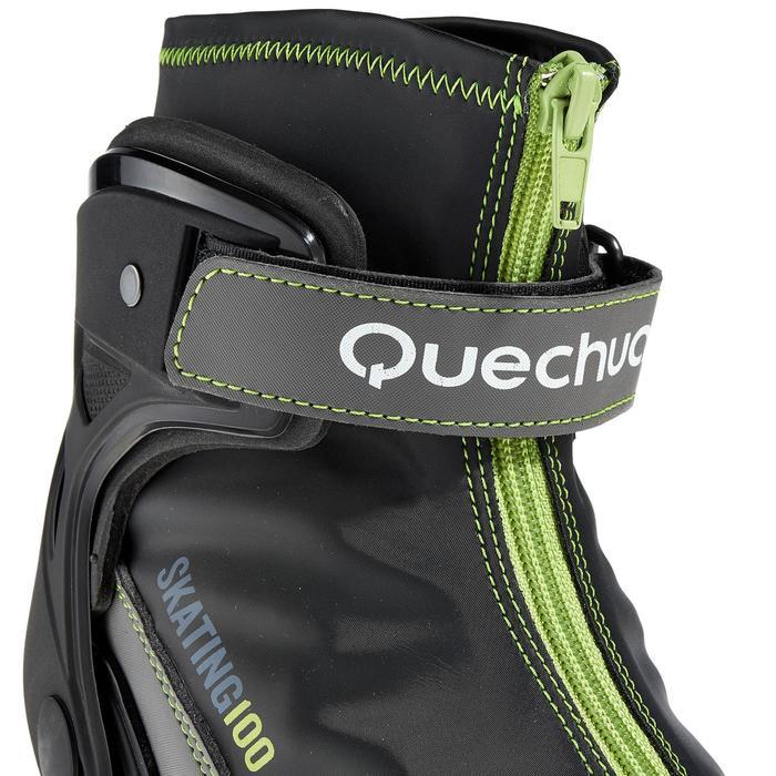 Chaussures ski de fond skate sport homme Skate 100 NNN - 318647