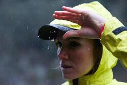 Regenpet voor hardlopen zwart - 318776