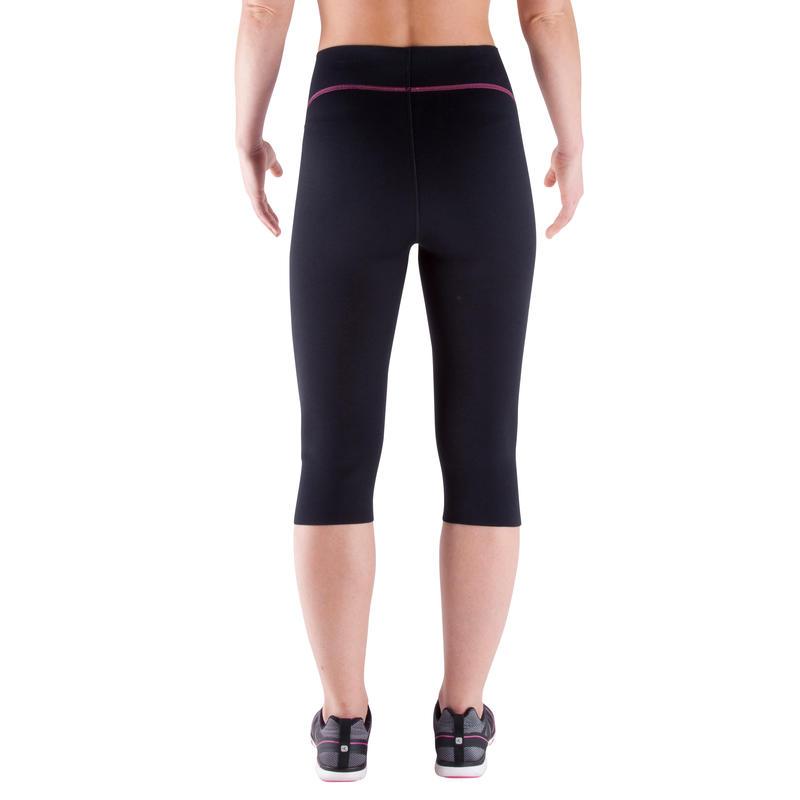 Short de sudation SWEAT + fitness femme noir