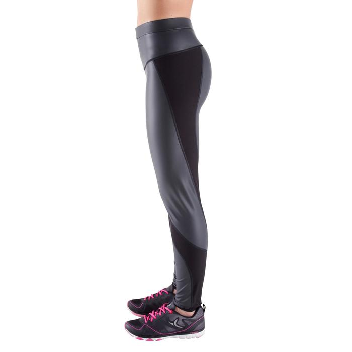 Schwitz-Trainingshose Sweat+ Fitness Cardio Damen schwarz