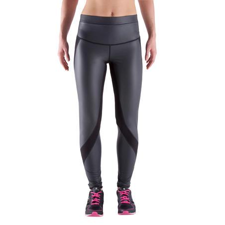 """Sportinės kardiotreniruočių tamprės moterims """"Sweat+"""" – juodos"""
