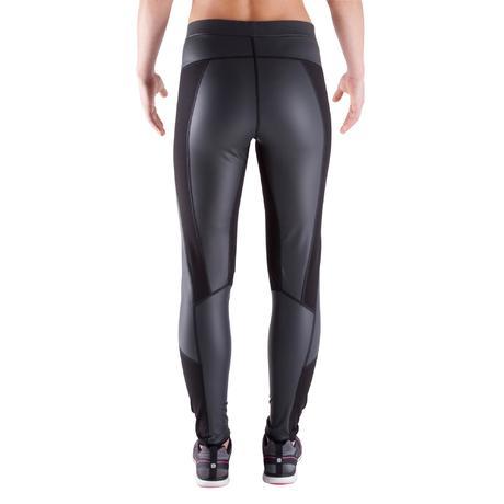 legging de sudation sweat fitness femme noir domyos by. Black Bedroom Furniture Sets. Home Design Ideas