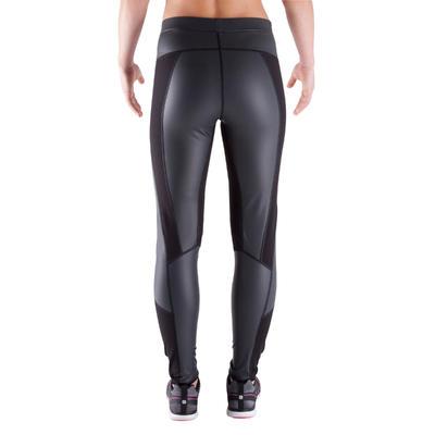Sweat+ Women's Cardio Fitness Sweat Leggings - Black