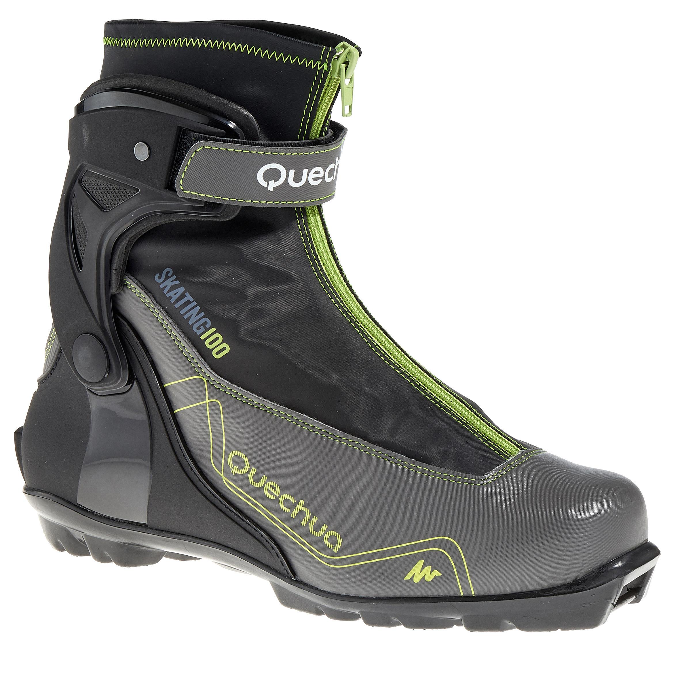 Quechua Langlaufschoenen voor heren sportief Skate 100 NNN thumbnail