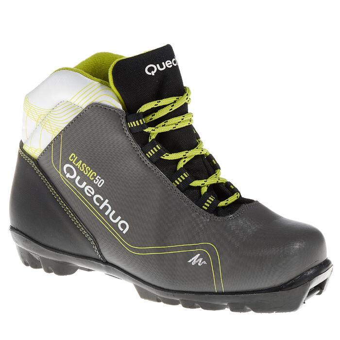 Chaussures de ski de fond classique loisir junior Classic 50 NNN noire - 319058