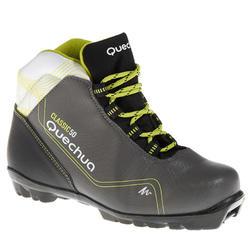 Chaussures de ski de fond classique loisir junior Classic 50 NNN noire