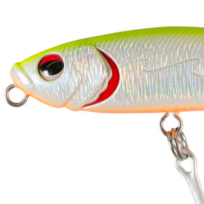 WIZDOM TW 11cm HOLO LEMON Sea Fishing Surface Lure