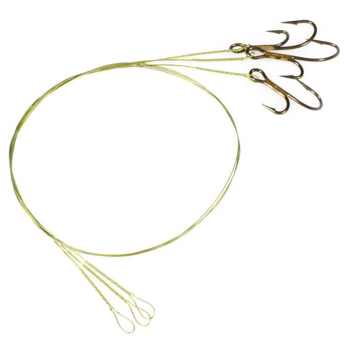 Avançon pêche carnassier RESIFIGHT 7 hameçons ryder 12KG x3 - 319755