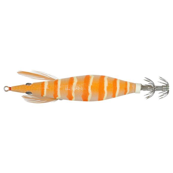 Turlutte EBIKA 2.5 orange pêche des seiches/calamars