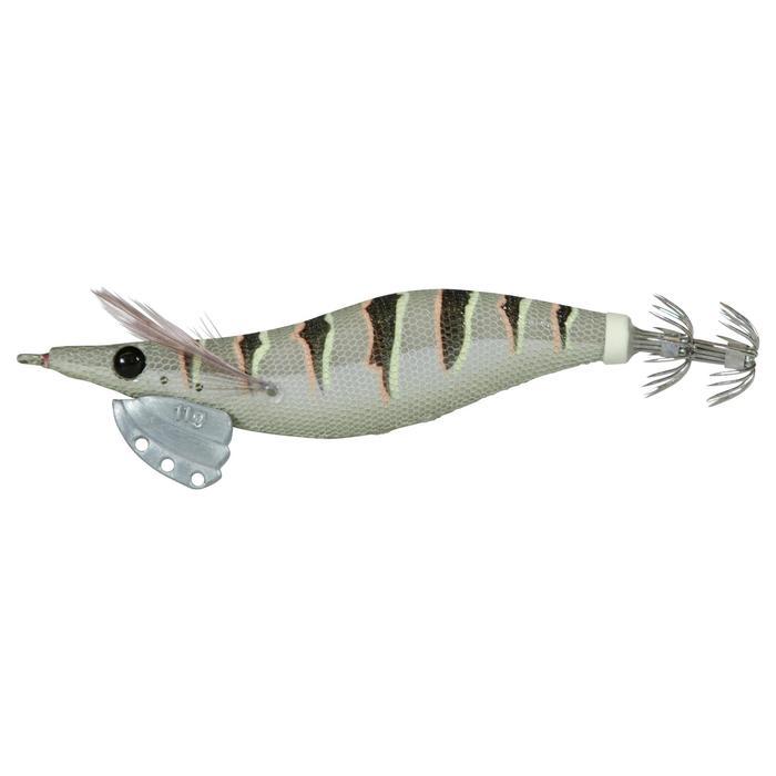 Anzuelo múltiple pesca de cefalópodos EBIKA 2,5 NATURAL