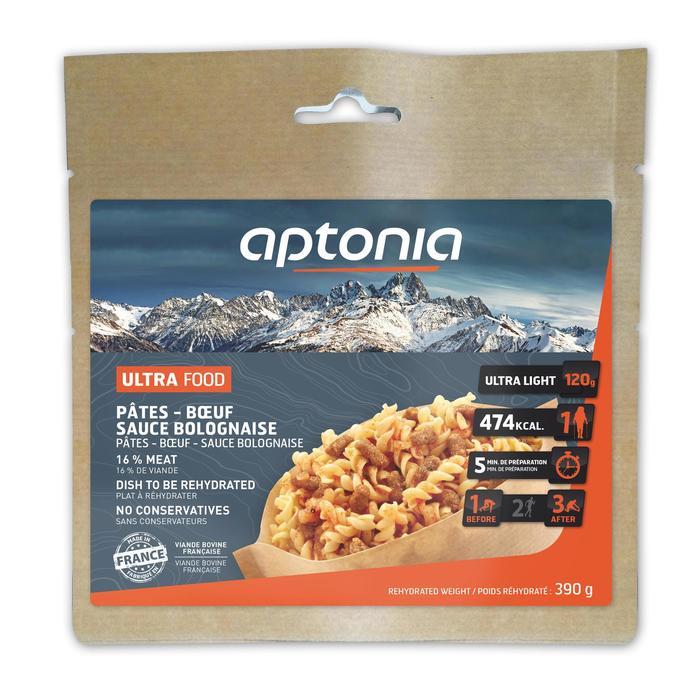Repas déshydraté trekking MOUNTAIN FOOD pâtes à la bolognaise 120g - 31982
