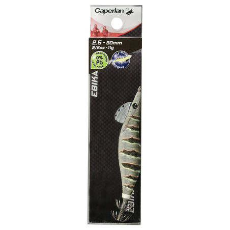 EBIKA 2.5 natural cuttlefish/squid fishing jig