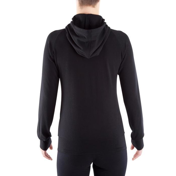 Veste capuche zippée Gym & Pilates femme - 320464