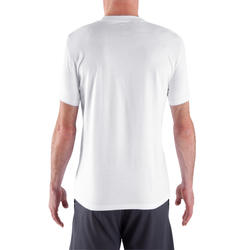 Fitness T-shirt Athletee Essentiel voor heren, katoen - 320598
