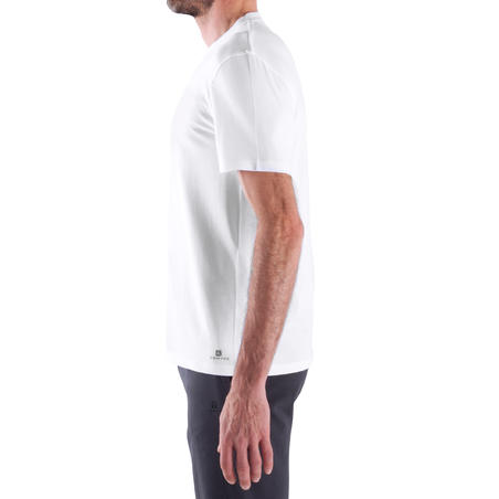 Athletee Essential Cotton Fitness T-Shirt - White