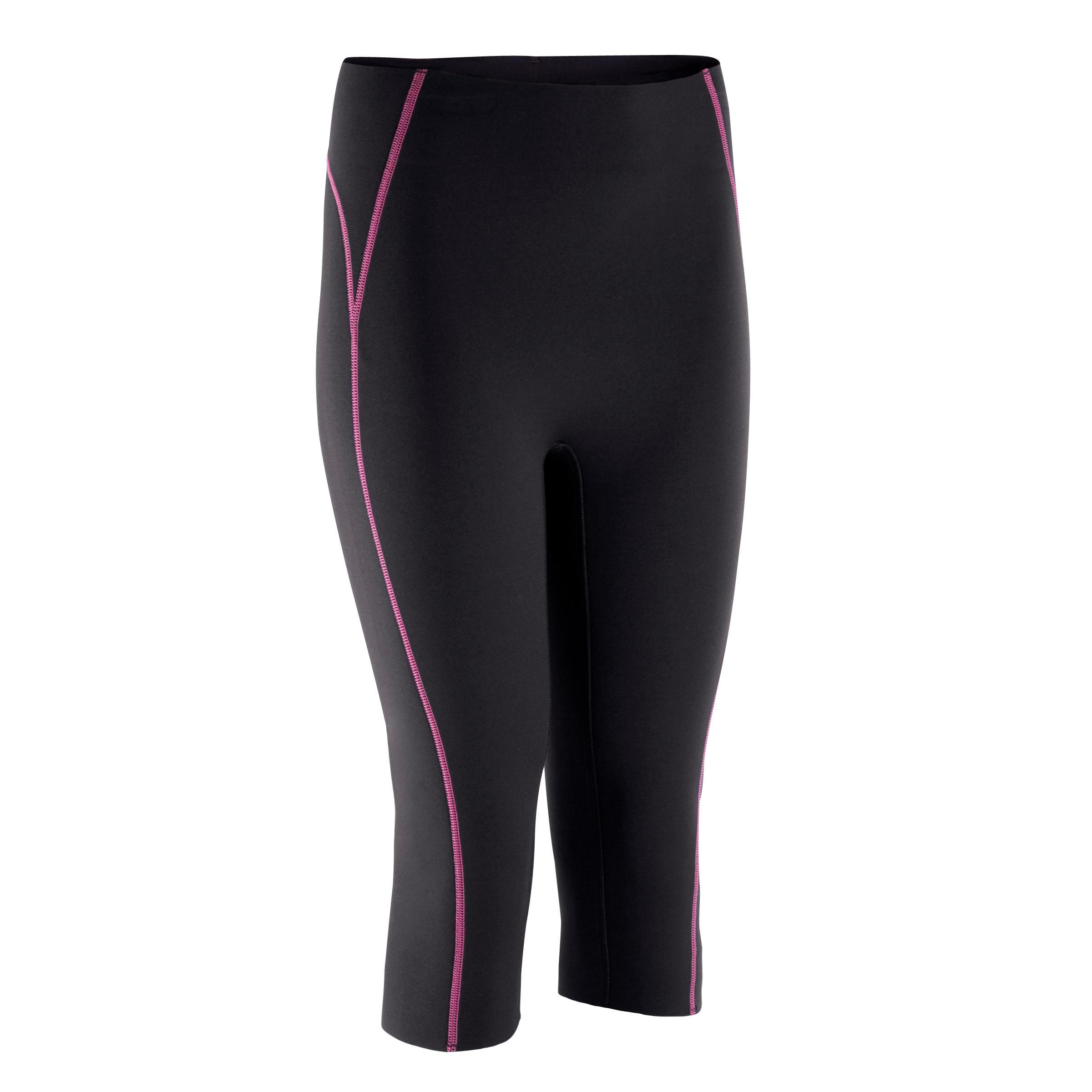 Shorts térmicos negros fitness mujer