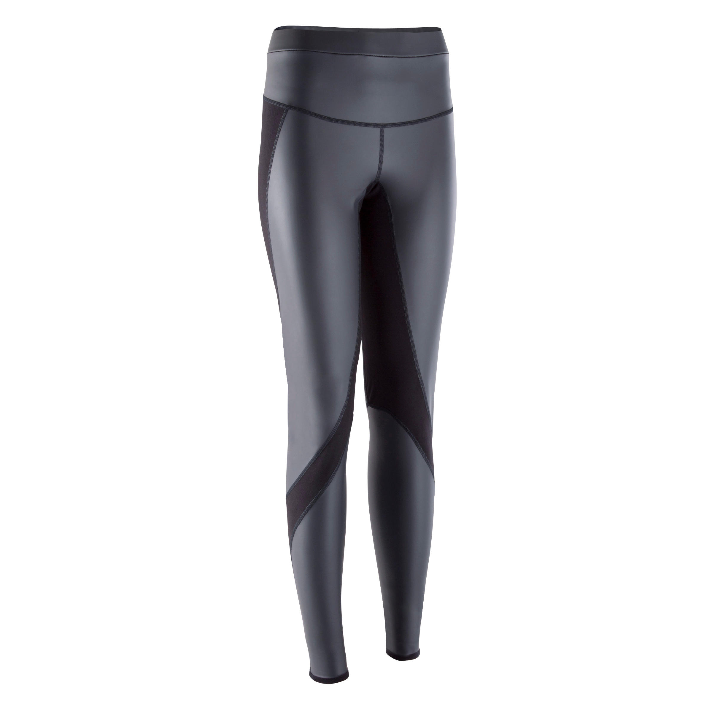 Legging de sudation fitness cardio femme noir SWEAT +