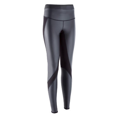 Leggings sauna fitness mujer SWEAT + negro