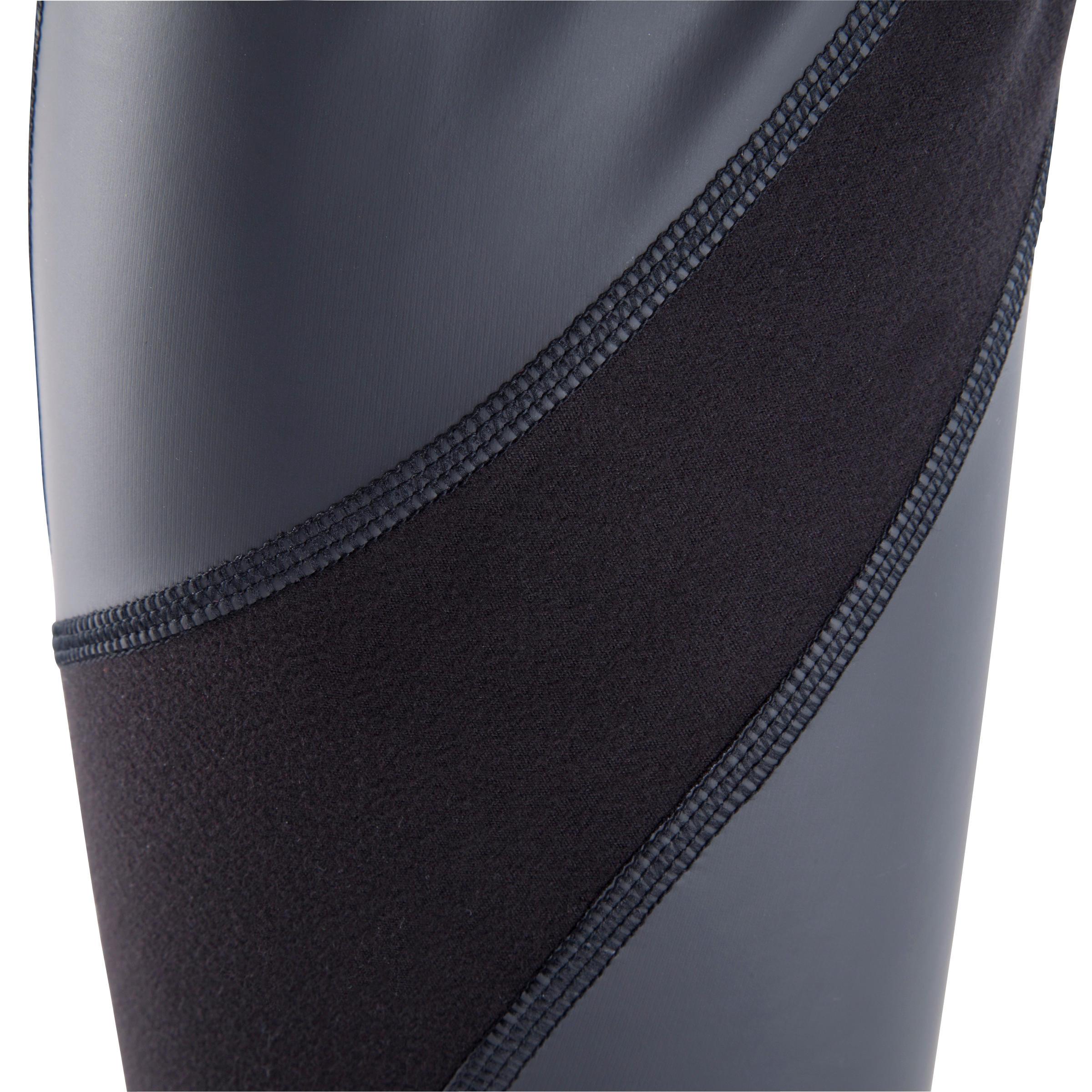 Legging de sudation fitness cardio femme noir SWEAT +