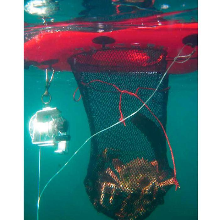 Opblaasbare drijfplank Dive Net voor harpoenvissen met net