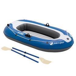 Opblaasboot Caravelle KK55 set blauw/grijs