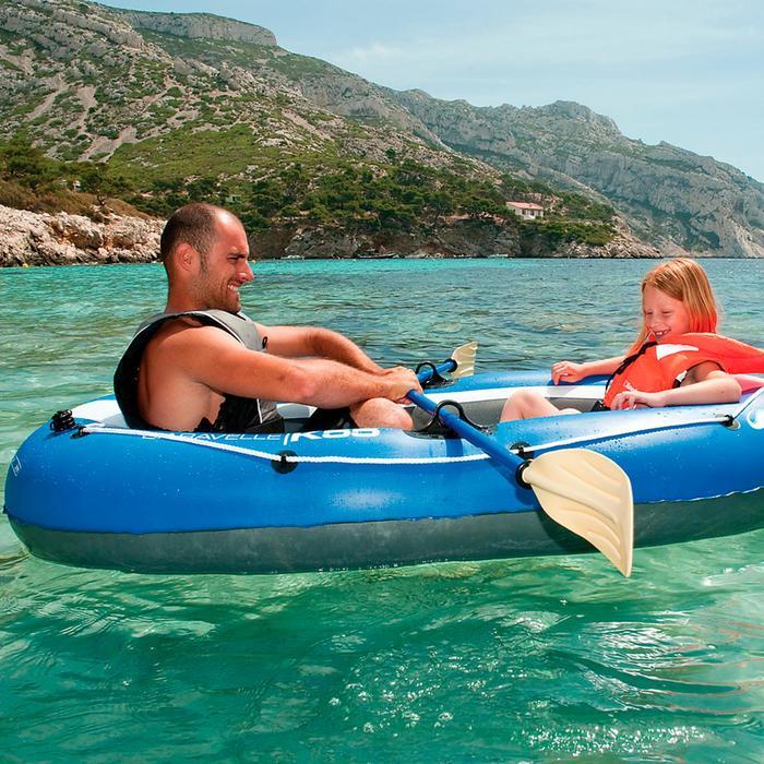 Paire de rames  pour bateau gonflable aluminium 150cm - 32276