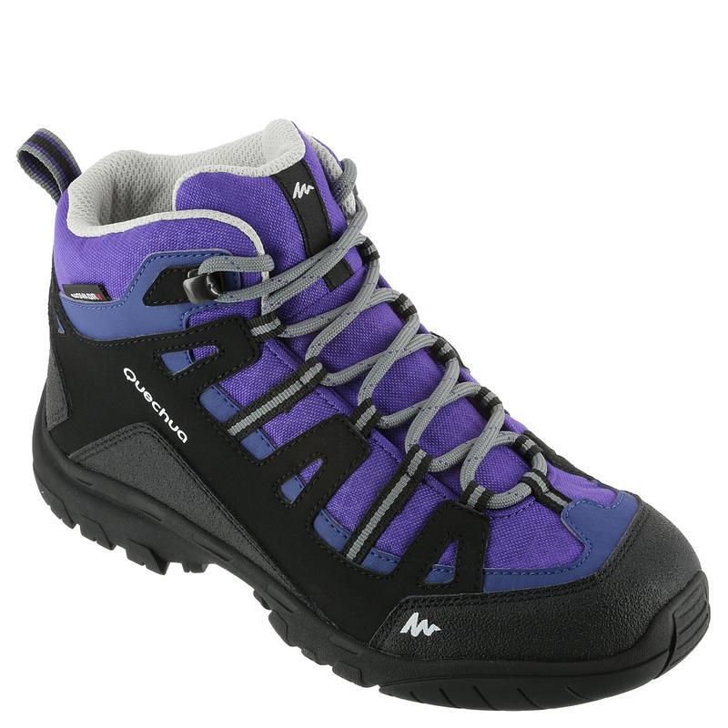 NH500 Mid Waterproof Jr Hiking Shoes - Purple