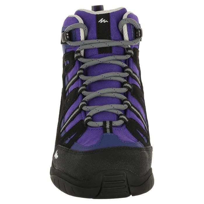 Chaussures de randonnée enfant NH500 Mid imperméables JR corail - 322784