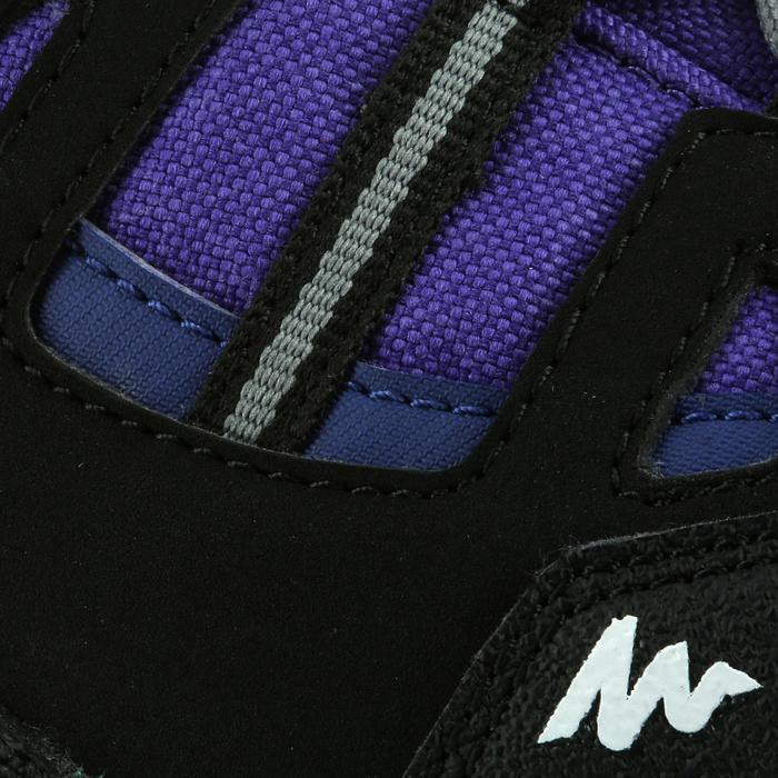 Waterdichte wandelschoenen voor kinderen NH500 mid paars