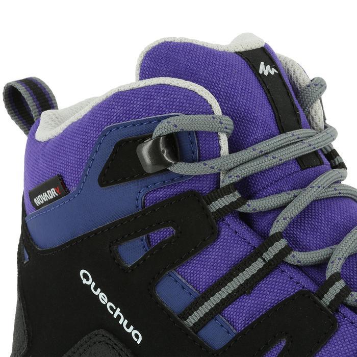 Chaussures de randonnée enfant NH500 Mid imperméables JR corail - 322790