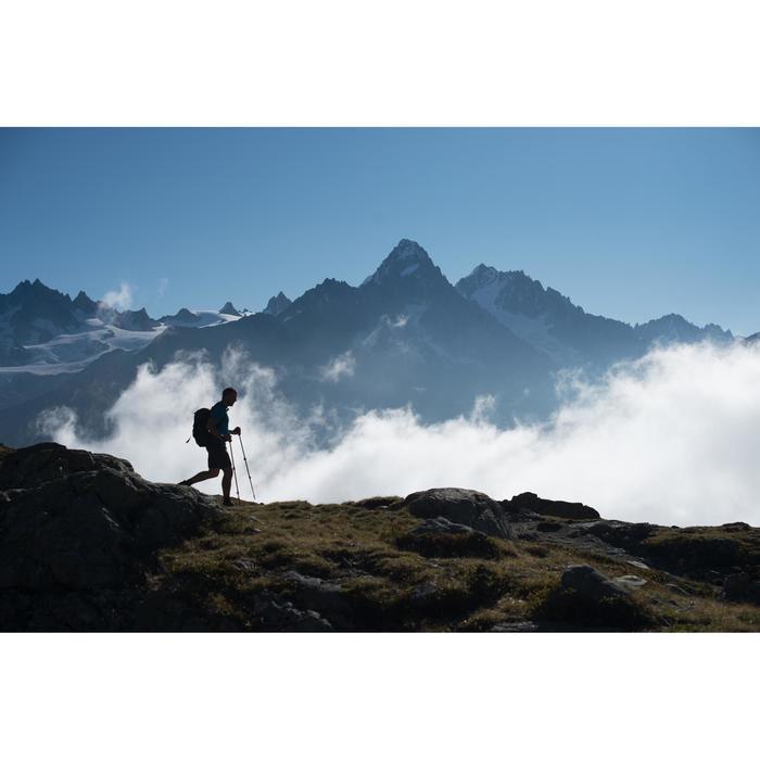 Wandersocken Bergwandern MH500 High 2 Paar schwarz/grau