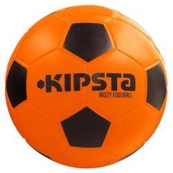 Ballon football mousse Wizzy taille 4 orange noir