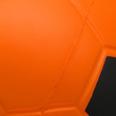 Balón de fútbol sala espuma Wizzy talla 4 naranja negro
