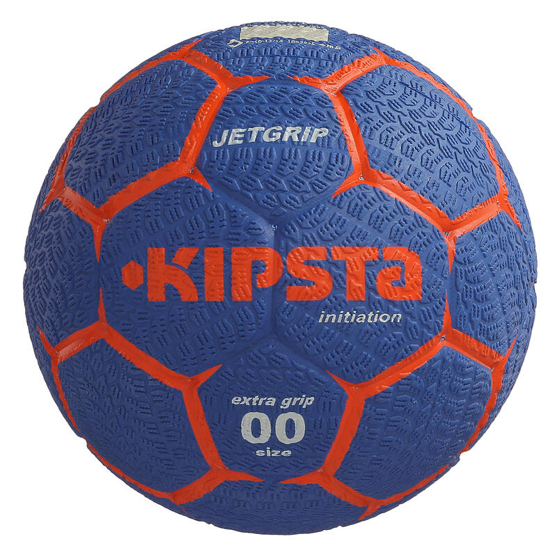 Balón de handball niños Jet Grip T00 azul oscuro rojo