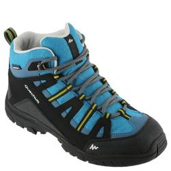 Children's hiking shoes NH500 Mid Waterproof JR turquoise