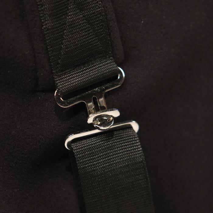 Chemise écurie équitation poney et cheval POLAR 800 noir / gris - 324367