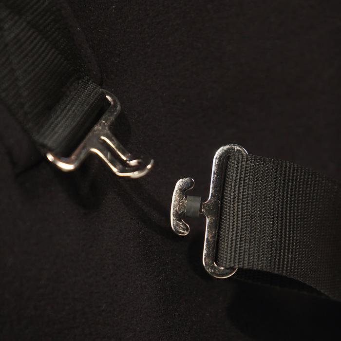 Chemise écurie équitation poney et cheval POLAR 800 noir / gris - 324368