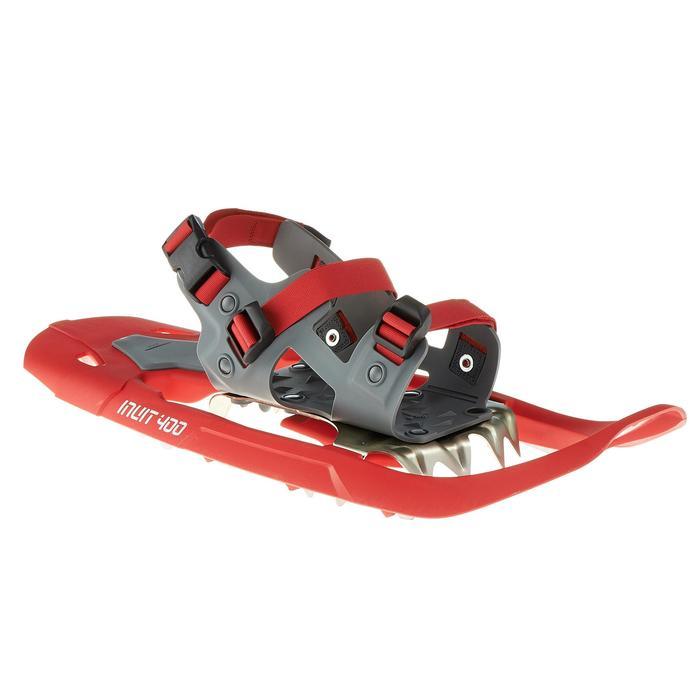 Raquettes à neige de randonnée SH100 Inuit rouge - 324548