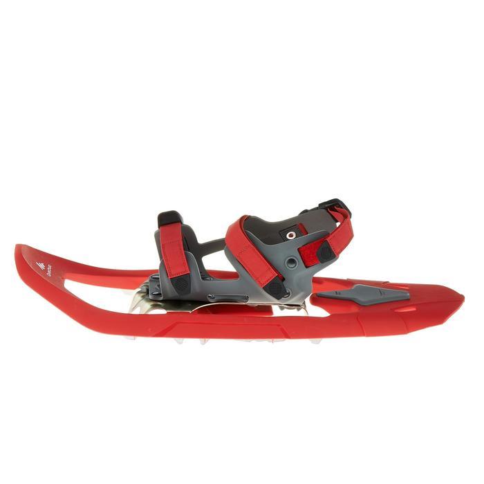 Raquettes à neige de randonnée SH100 Inuit rouge - 324554