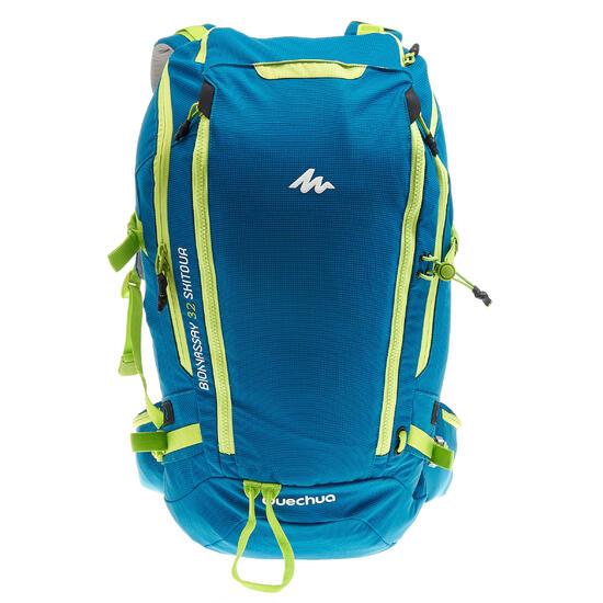 Rugzak voor toerskiën Bionnassay All Mountain 32 l blauw - 324570