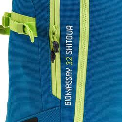 Rugzak voor toerskiën Bionnassay All Mountain 32 l blauw - 324577