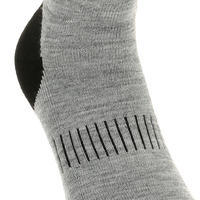 Adult Snow Hiking Socks SH100 Warm Mid - Grey.
