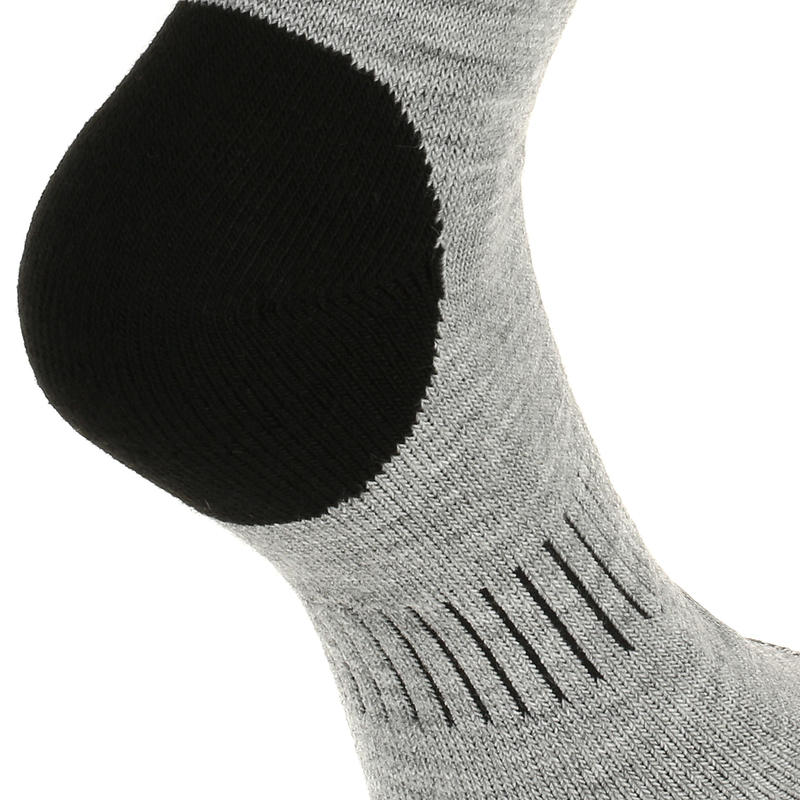 SH100 Warm Mid Snow Hiking Socks - Grey.